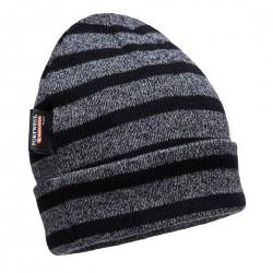 Portwest - Bonnet tricoté à rayures isolant - B024