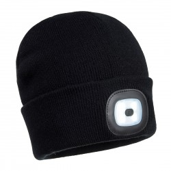 Portwest - Bonnet Beanie double LED rechargeable - B028