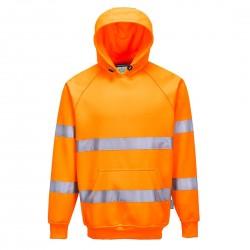 Portwest - Sweatshirt HV à capuche - B304