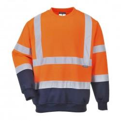 Portwest - Sweatshirt bicolore HV - B306