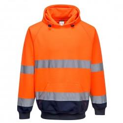 Portwest - Sweat shirt à capuche bicolore - B316