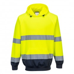 Portwest - Sweat shirt à capuche bicolore - B316
