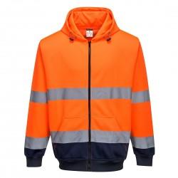 Portwest - Sweat à capuche bicolore à zip - B317