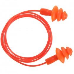 Portwest - Bouchon d'oreille TPR avec cordon réutilisable (50 paires) - EP04