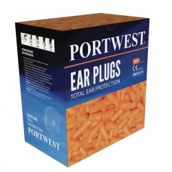 Portwest - Recharge pour distributeur de bouchons mousse (500 paires) - EP21
