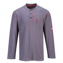 Portwest - Tshirt Bizflame Henley Crew - FR02