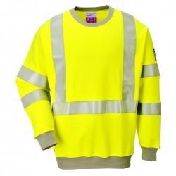 Portwest - Sweatshirt FR antistatique HV - FR72
