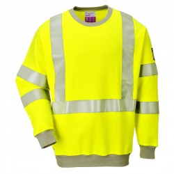 Portwest - Sweatshirt FR antistatique HV - FR72