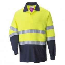 Portwest - Polo Two Tone antistatique résistant à la flamme - FR74
