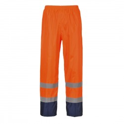 Portwest - Pantalon de pluie HV bicolore - H444