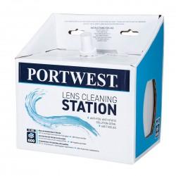 Portwest - Station de nettoyage d'oculaire (600 unités) - PA02