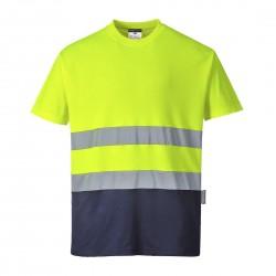Portwest - T-shirt coton bicolore - S173