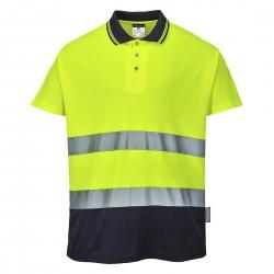 Portwest - Polo coton bicolore - S174