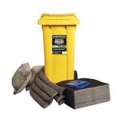 Portwest - Kit absorbant de maintenance 120 litres - SM33