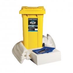 Portwest - kit absorbant 120 litres pour hydrocarbures - SM63